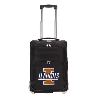 Denco Sports Luggage NCAA U Of Illinois Fighting Illini 21-inch Carry On Upright Suitcase