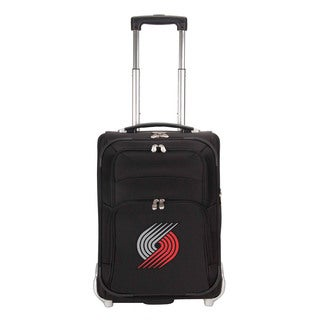 Denco Sports Luggage NBA Portland Trailblazers 21-inch Carry On Upright Suitcase