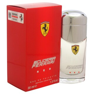 Ferrari Scuderia Red Men's 1-ounce Eau de Toilette Spray