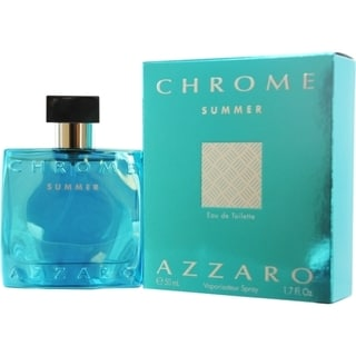 Loris Azzaro Chrome Summer Men's 1.7-ounce Eau de Toilette Spray (Limited Edition 2012)