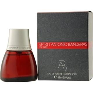 Antonio Banderas Spirit Mens .5-ounce Eau de Toilette Spray|https://ak1.ostkcdn.com/images/products/10066907/P17211398.jpg?impolicy=medium