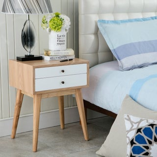 Porthos Home Wright Mid-Century Side Table (2 options available)