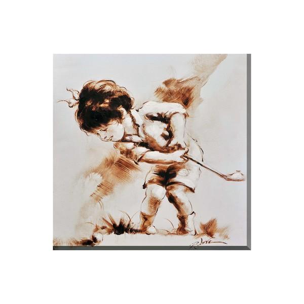 Porthos Home Golfer Boy Canvas Print Wall Art Free Shipping On