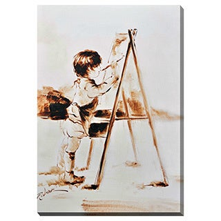 Porthos Home Artist Child Canvas Print Wall Art