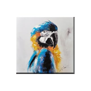 Porthos Home Parrot Canvas Print Wall Art