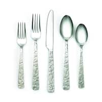 Cambridge Silversmiths Indira Shaila Antiqued Mirror 20-piece Flatware Set - Antique