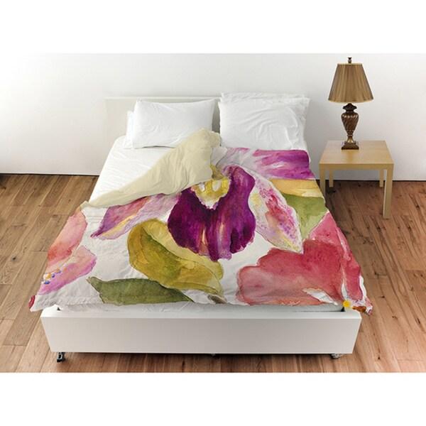 Radiant Orchid Duvet Cover