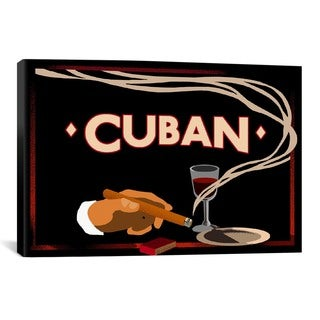 iCanvas Vintage Apple Collection Cuban from Vintage apple collection Canvas Print Wall Art