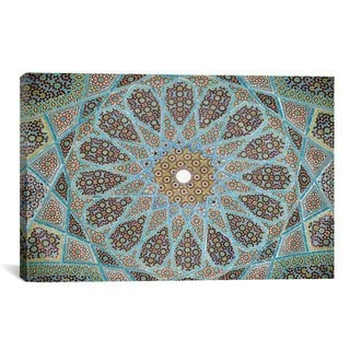 iCanvas Tomb of Hafez Mosaic Photographic Art Print #7252 Canvas Print Wall Art