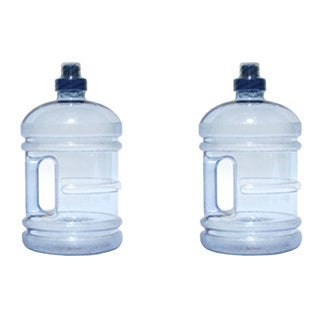 H8O 64-ounce BPA-free Water Jug with Handle (Pack of 2)