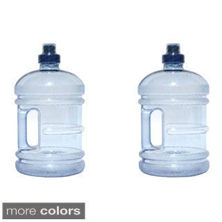 H8O 64-ounce BPA-free Water Jug with Handle (Pack of 2) (3 options available)