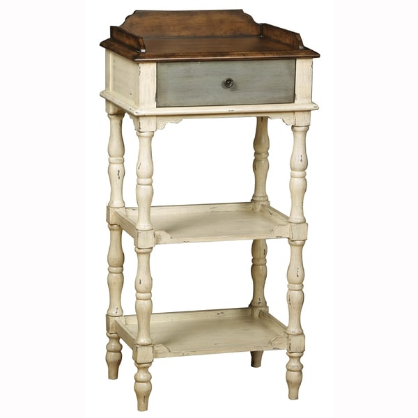 Hand Painted Distressed Coffee Table: Shop Hand Painted Distressed Weathered Ivory Finish Accent