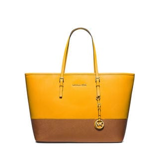 Michael Kors Jet Set Travel Medium Heritage Tote Bag