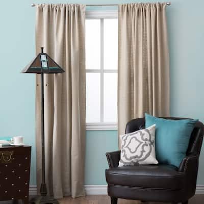 Natural Classic Design Curtain Panel