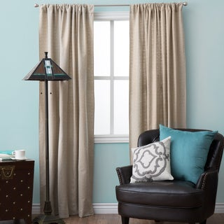 Natural Classic Design Curtain Panel