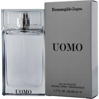 Ermenegildo Zegna Uomo Men's 1.7-ounce Eau de Toilette Spray