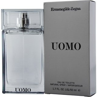 Ermenegildo Zegna Uomo Men's 1.7-ounce Eau de Toilette Spray
