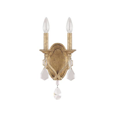 Blakely 3-light Antique Gold Wall Sconce