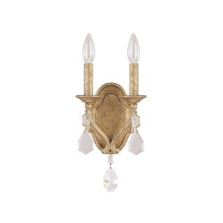 Capital Lighting Blakely Collection 3-light Antique Gold Wall Sconce
