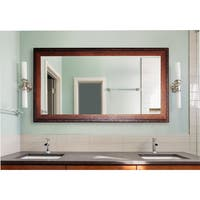 American Made Extra Large 35 x 64-inch Timber Estate Vanity Wall Mirror