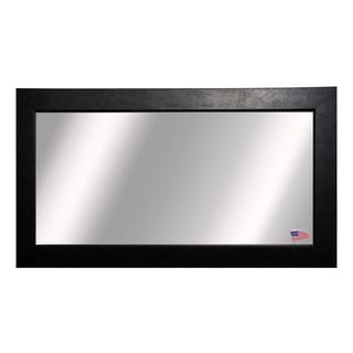American Made Rayne Extra Large Black Superior Wall/ Vanity Mirror