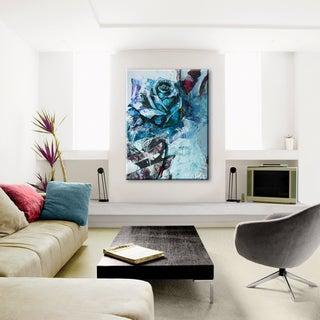 Ready2HangArt 'Painted Petals XXXIX' Canvas Wall Art