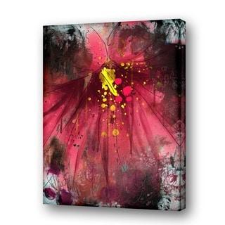 Ready2HangArt 'Painted Petals LV' Canvas Wall Art