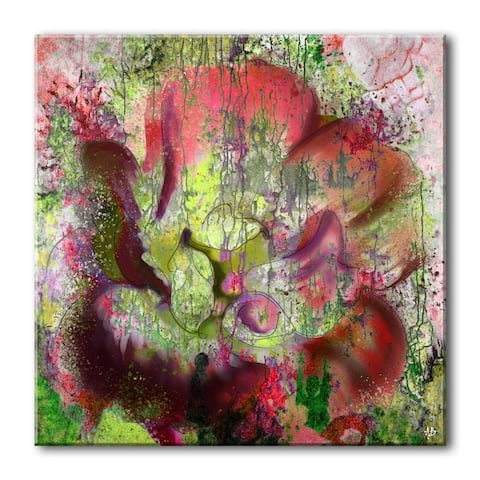 Ready2HangArt 'Painted Petals LVI' Canvas Wall Art