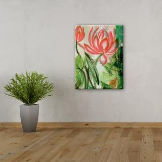 Ready2HangArt 'Painted Petals LIII' 3-piece Canvas Wall Art Set