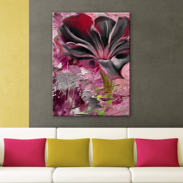 Ready2HangArt 'Painted Petals LXIII' Canvas Wall Art