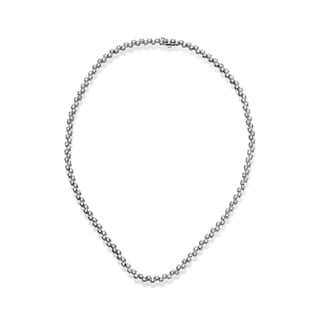 SummerRose 18k White Gold 11 3/4ct TDW Alternating Diamond Necklace (H-I, SI1-SI2)