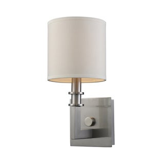Seven Springs Collection 1-Light Sconce In Satin Nickel