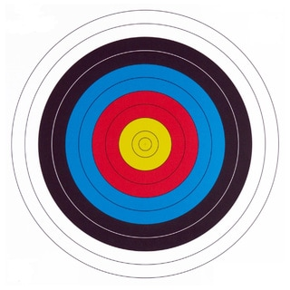 .30-06 10 Ring Paper Target (100 Count)