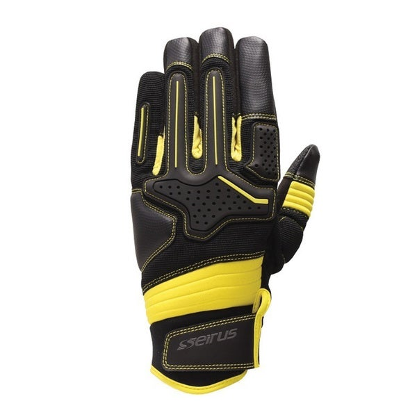 Seirus Men's Black/ Yellow HWS Workman Dakota Glove