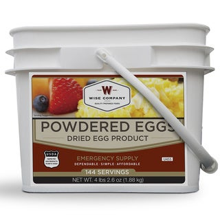 Wise Foods Powdered Eggs In a Bucket - White