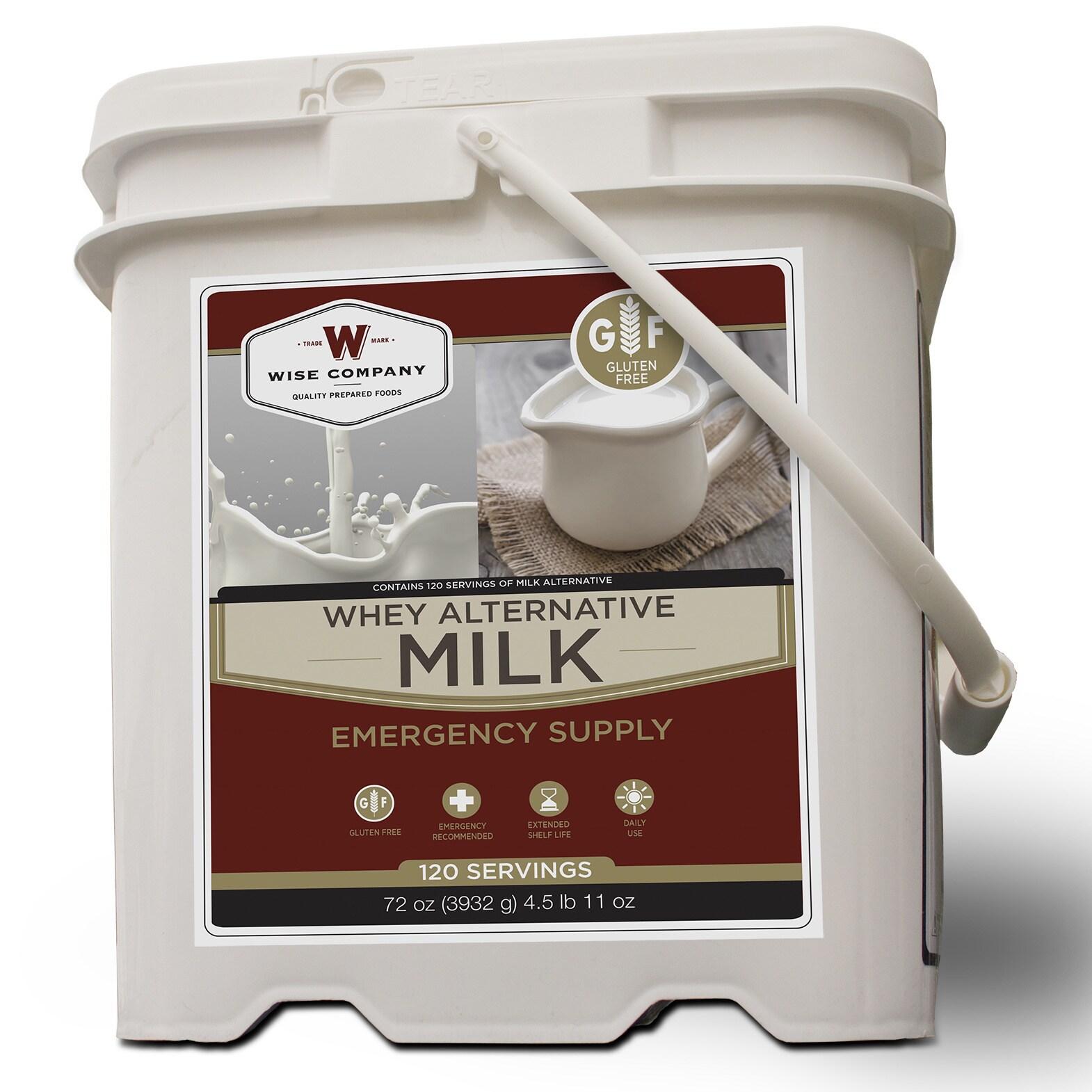 Wise Foods Emergency Supply Milk Bucket (120 Servinigs)