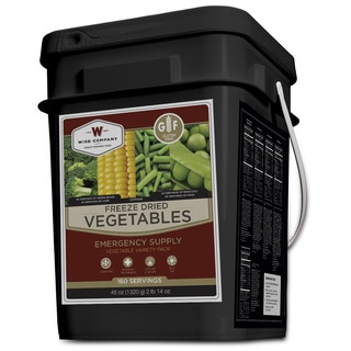 Wise Foods Freeze Dried Vegetable Gluten Free