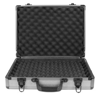 SportLock AlumaLock Quad Handgun Case, Gray