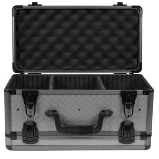 SportLock AlumaLock Double Sided Handgun Case, Gray