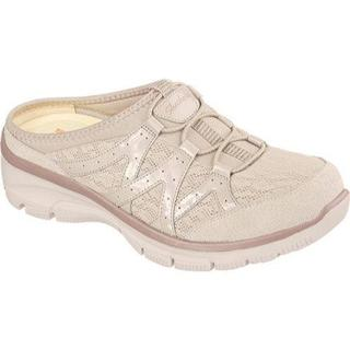 Women's Skechers Relaxed Fit Easy Going Repute Clog Sneaker Taupe