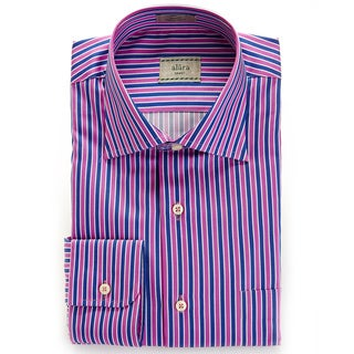 Alara Multi Satin Stripe Egyptian Cotton Shirt