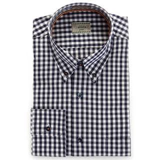 Alara Navy Air Washed Check Shirt