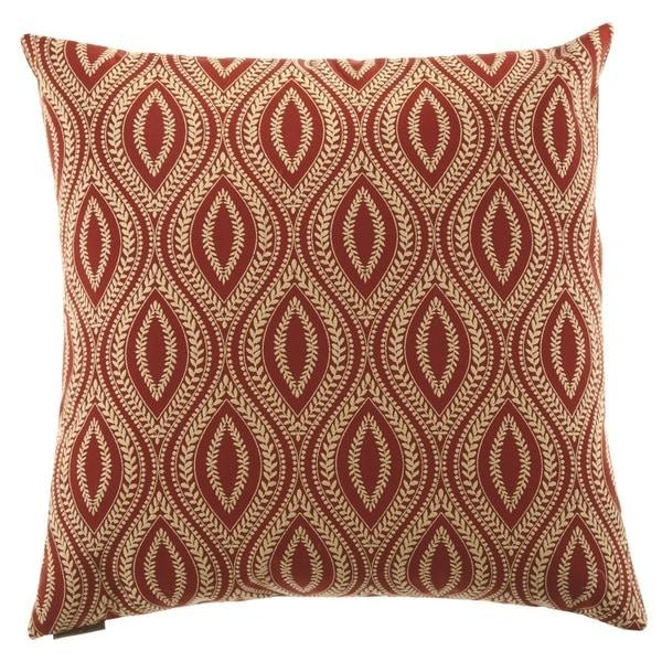 Carino Decorative Feather Down Hidden Zipper 24-inch Decorative Throw Pillow