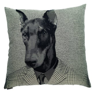 Master Dog Decorative 24-inch Throw Pillow