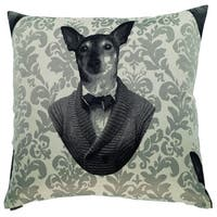 Baby Dog Decorative 24-inch Throw Pillow