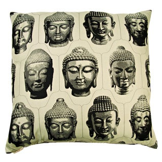 Buddha Decorative 24-inch Throw Pillow
