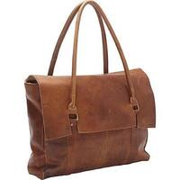 Large Oversized Soft Brown Leather Handbag