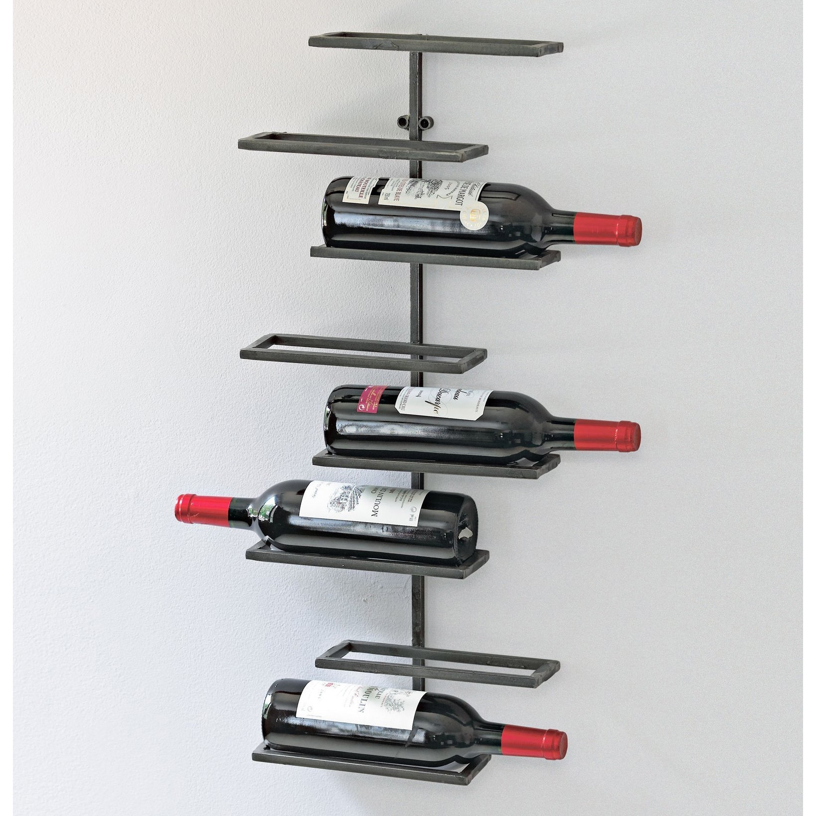 8 Bottle Urban Wall Wine Rack
