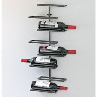 8-Bottle Urban Wall Wine Rack
