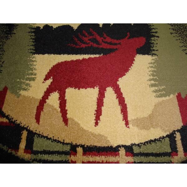 Hearth Rug Wildlife Fireplace